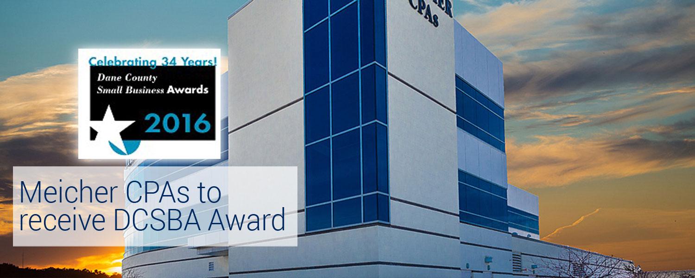 Meicher CPAs to receive DCSBA Award